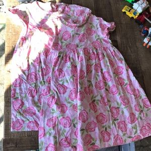 Hanna Andersson spring dresses size 130 (2)